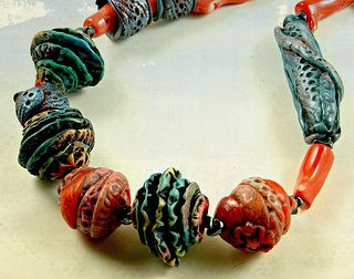 Reef necklace - polymer clay | Flickr - Photo Sharing!