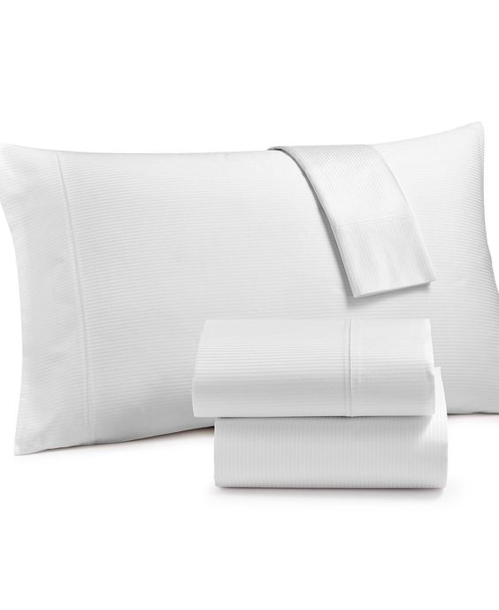Charter Club Hygro 400 Thread-Count Cotton Full Sheet Set, Only at Macy's