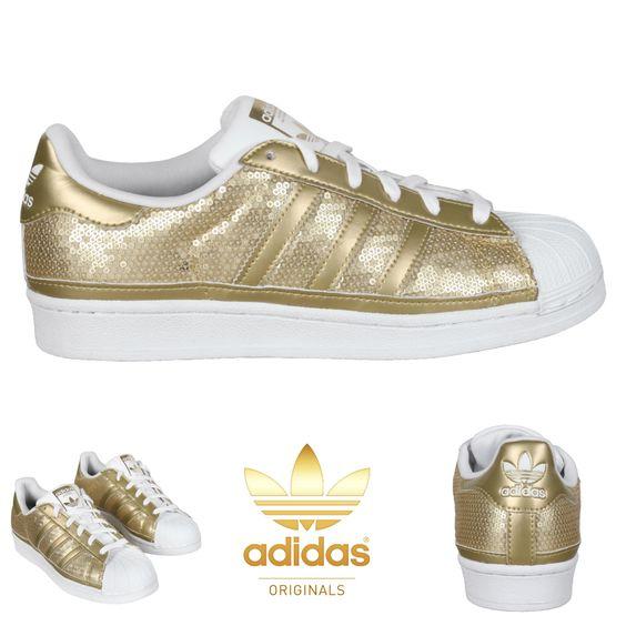 superstars shoes gold
