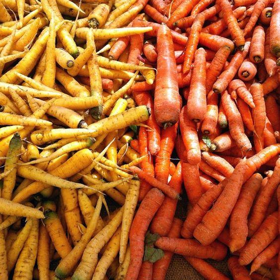 Carrot Color Block / Image via: Jennifer Chong #fall #foods