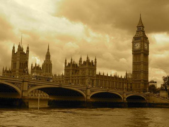 Londres, el Big Ben que cosa mas espectacular!