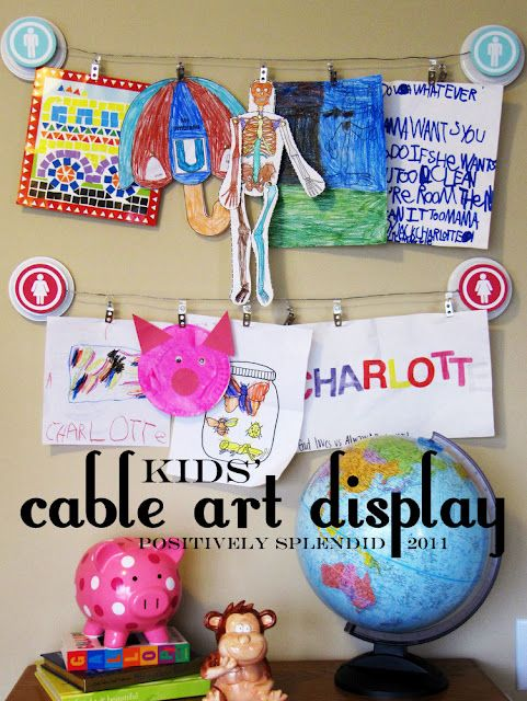 Pottery Barn Inspired Cable Art Display Tutorial. Love this idea and she has great instructions.