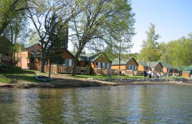 Campfires bays and resorts on pinterest for Fish trap lake mn