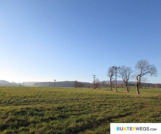 Die tschechische Landschaft zog mich direkt in ihren Bann
