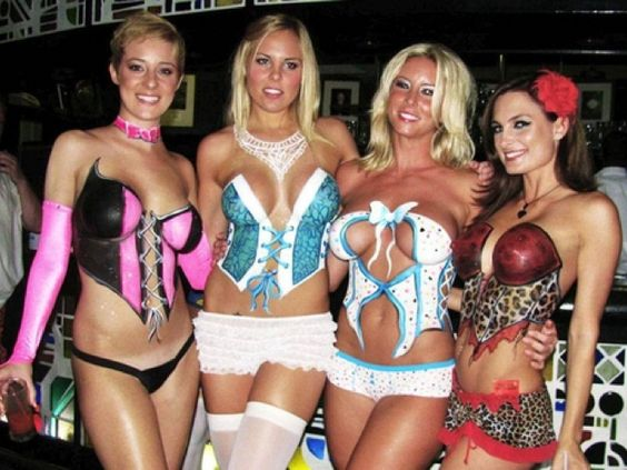 Playboy Mansion Body Paint Party Body Paint Art