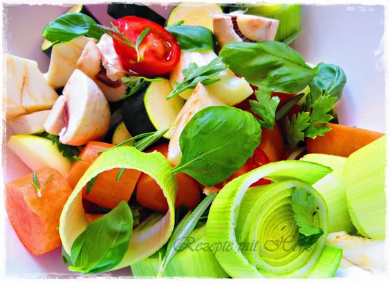 Rezepte mit Herz   ♥: Gemüsepaste