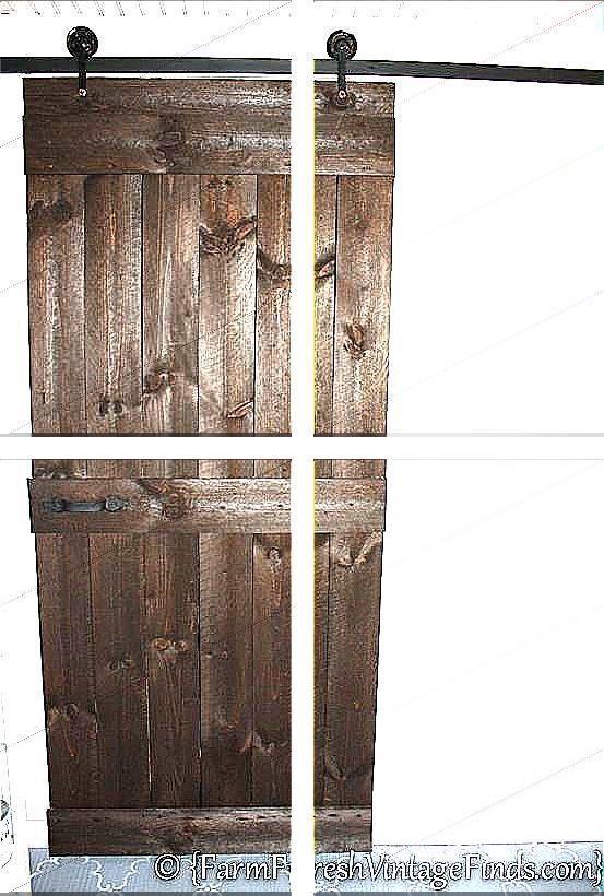 Barn Door Roller Kit Barn Door Runners Industrial Sliding Door