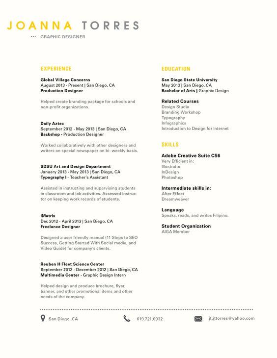 Clean, simple look! Creative Resume Design, Resume Style, CV - manual testing resume