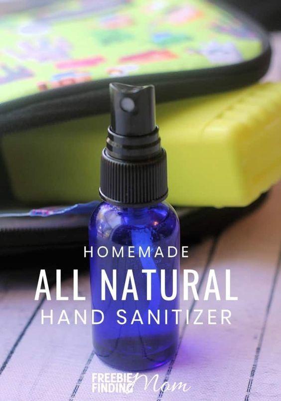 Homemade Hand Sanitizers Recipe