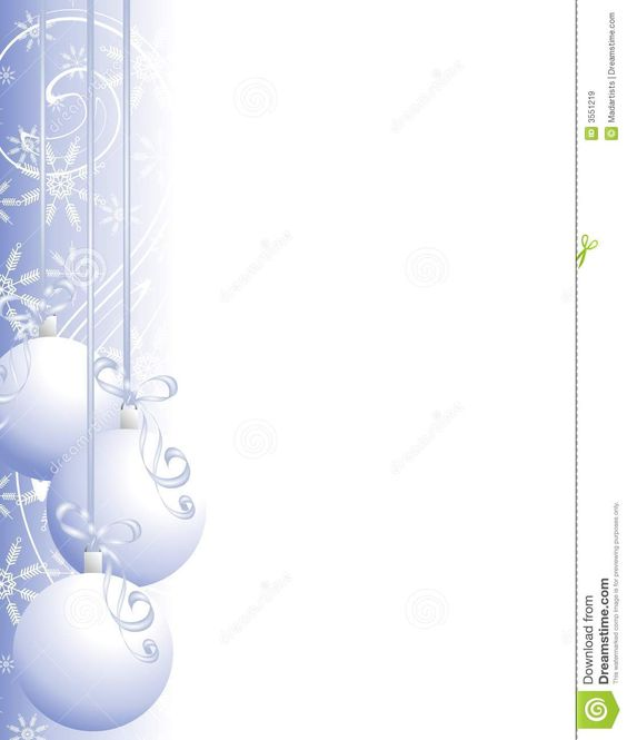 Christmas Ornaments Border 2 Royalty Free Stock Images - Image: 3551219