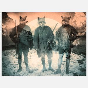 Fox Hunt 24x16 now featured on Fab.
