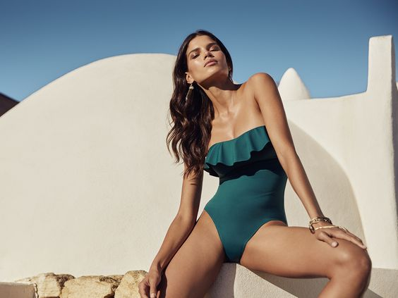 Beach babe: unique one piece swuimsuits from Asos