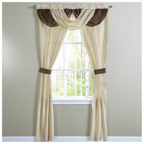 Monte Carlo 5 Piece Drape Set Sliding Glass Door Window Elegant