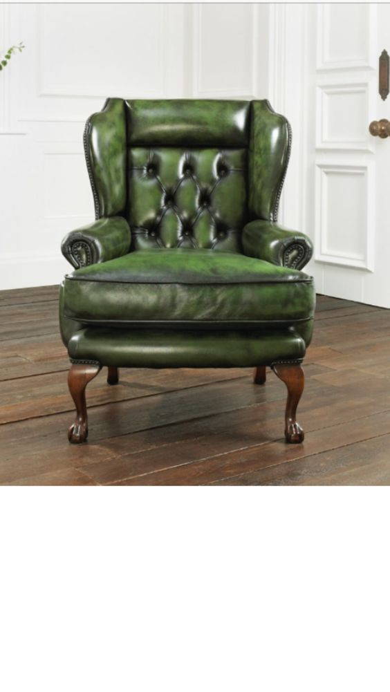 distinctive chesterfields shops and wing chairs on pinterest. Black Bedroom Furniture Sets. Home Design Ideas
