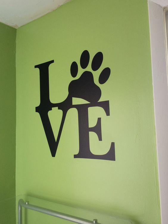 Evolution of a Dog Room | missyscrafts  Dog room decor and design ideas