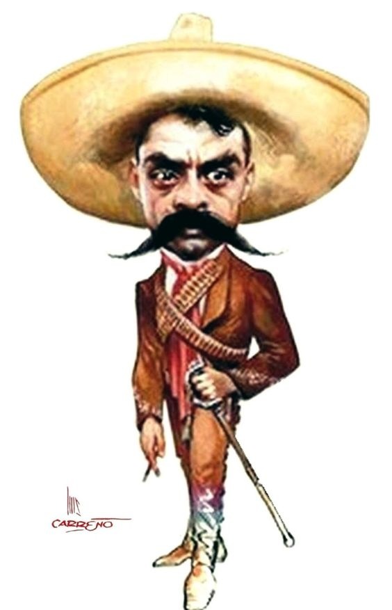 Emiliano Zapata by Luis Carreño