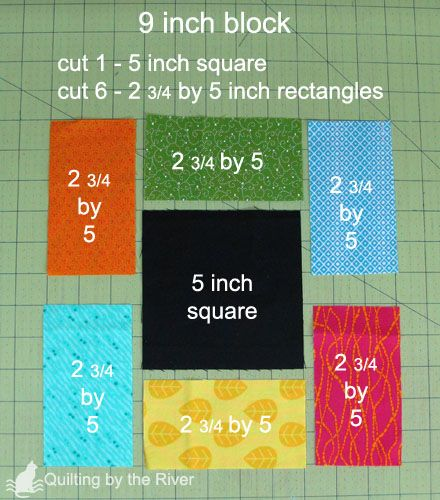 9 inch block diagram