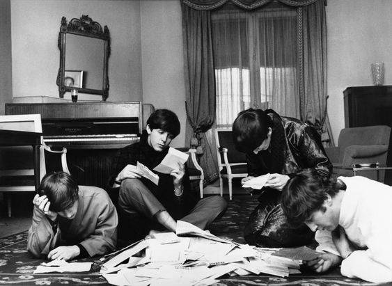 Harry Benson, Beatles fan mail, Paris 1964