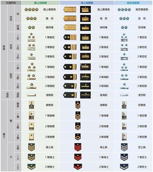 自衛隊の階級 16等級で22万7000人の秩序を保つ トップ「4つ桜」は4人 「5つ桜」は…(1):イザ! | 階級, 階級章, 言葉 意味