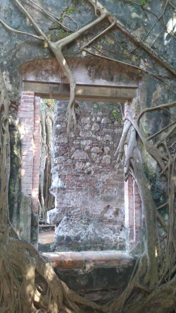 Casa de Hernán Cortés en La Antigua, Veracruz. House of Cortez at La Antigua, Veracruz. #routeofcortez #veracruz #conquistador