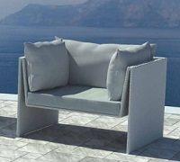 Outdoor sofa design - disponibile su www.italianarredo.it alla sezione GIARDINO