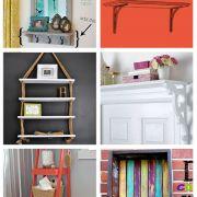 Over 50 Awesome DIY Shelves to Make