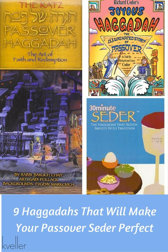 9 Kid-Friendly Haggadahs That Will Make Your Passover Seder Perfect