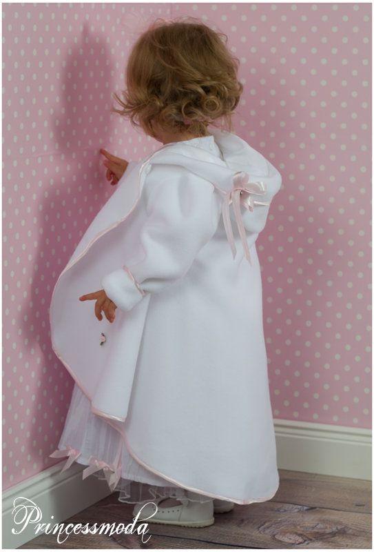 MARIE Taufkleid inkl. Taufmantel TRAUM! - Princessmoda - Alles für Taufe Kommunion und festliche Anlässe