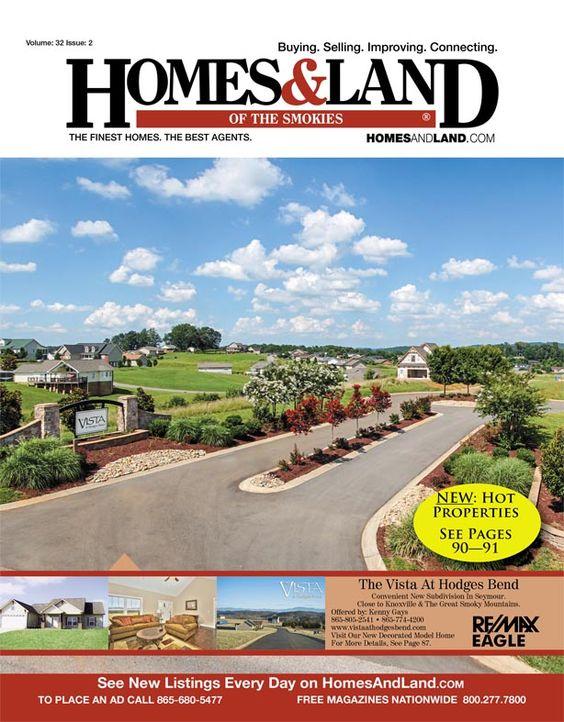 View the latest issue online of Homes & Land of the Smokies #homesandlandmagazine #realestate #homesforsale