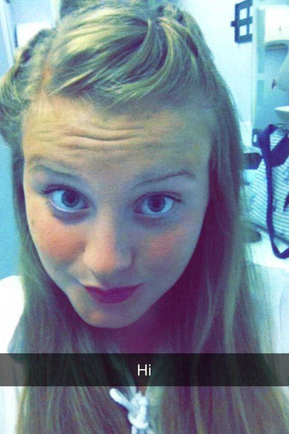 My friend done waterfall in my hair xx