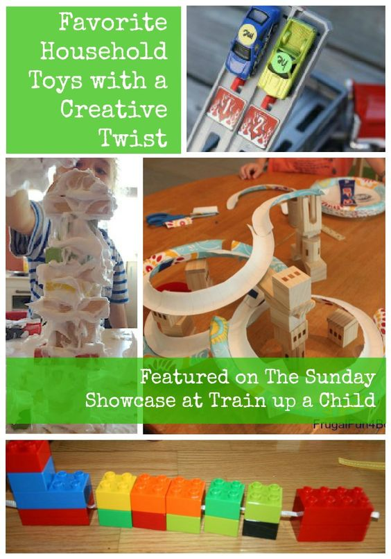 Train Up a Child: The Sunday Showcase Featuring Favorite Household Toys with a Creative Twist