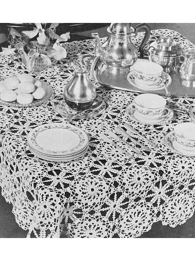 Irish Crochet Tablecloth: Irish Crochet, Lace Crochet, Crochet Tablecloths, Patterns Irish, Crochet Patterns, Pattern Lace, Crochet Tablecloth Pattern, Crochet Table Cloth Pattern, Irish Tablecloth