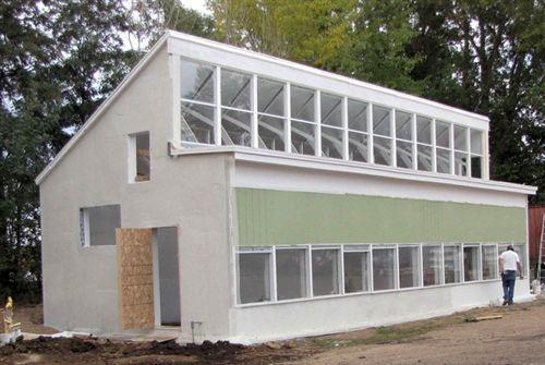 Greenhouse- Aquaponics Systems