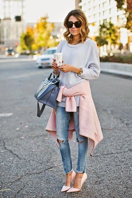 15 Amazing Winter Street Styles Combos. Image via Chicisimo.com on Fashionsy.com: