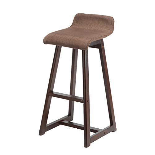 Modern Bar Stool Solid Wood Bar Stool Front Bar Chair Bar Stool Bar Stool High Stool High Chair Bar Chair Color Wood Bar Stools Modern Bar Stools Bar Chairs