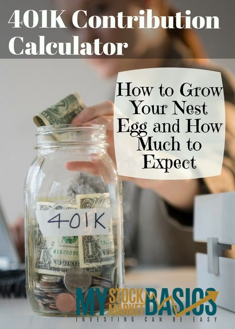 A 401k Calculator That Will Make You Rich Investing For Retirement Investing Investing Money