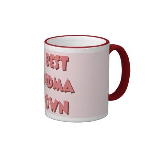 The Best Grandma In Town Mug