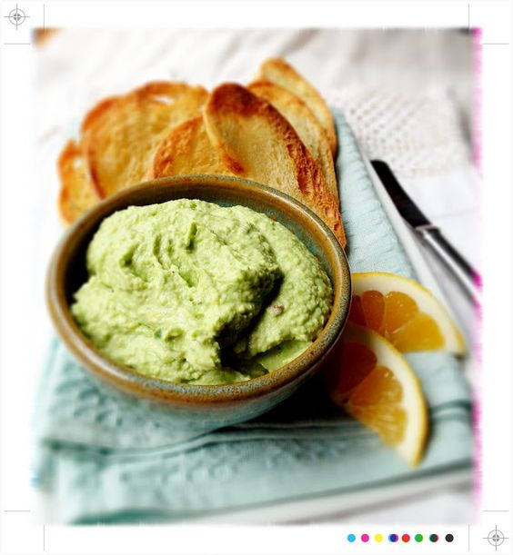Toast: In Season:Spicy Broad Bean, Pea & Goat's Cheese Pate