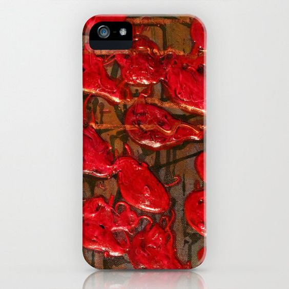Pulse iPhone Phone Case for the  iPhone 6 by HylaWaldronArtist