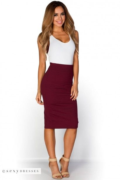 High waist pencil skirt images – Modern skirts blog for you