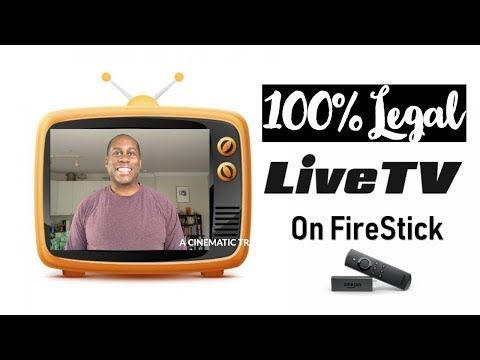 How To Get Free And 100 Legal Live Tv On Your Firestick And Firetv Youtube Live Tv Watch Live Tv Amazon Appstore