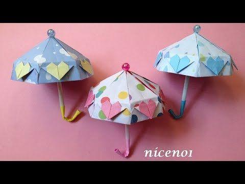 簡単 折り紙 和 傘 作り方