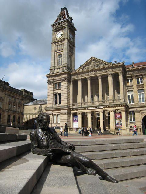 England Travel Inspiration - Chamberlain Square, Birmingham, UK - Thomas Attwood (6 October 1783 – 6 March 1856) was a British banker, economist, political campaigner and Member of Parliament.: