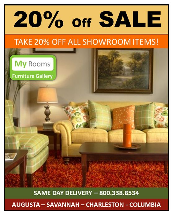 Charleston Furniture Store Sale