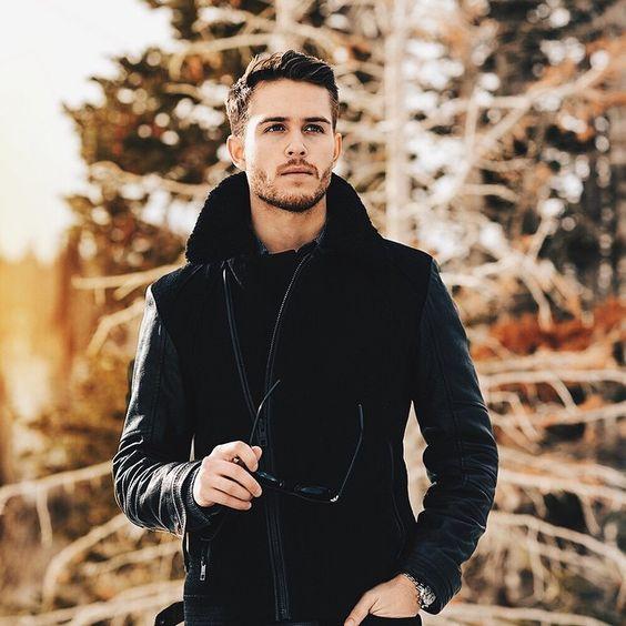Andrew Marc jacket | iamgalla.com