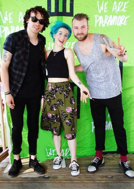 Paramore - lovin Hayley's hair in this picture