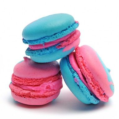 This time we are going crazy! Cotton candy flavored macarons YES PLEASE!!