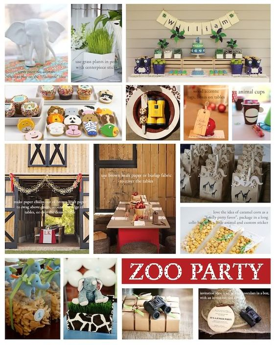 Decorating Ideas > Zoo For The Party Animal  Zoo Birthday Party  ~ 200332_Birthday Party Ideas Zoo Animals