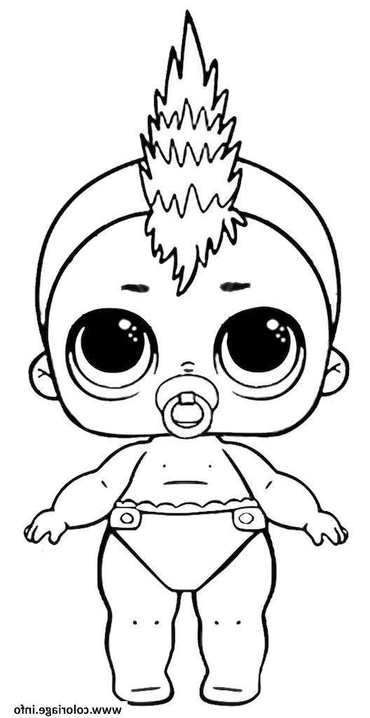 Poupee A Imprimer Lil Punk Coloriage Dessin Coloriagepoupee Lol