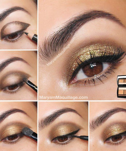 12 Tips for A Perfect Eye Shadow Makeup: #No.12 Create A Pretty Shape